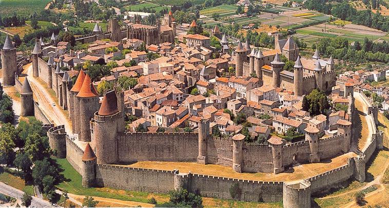 carcassonne-frança